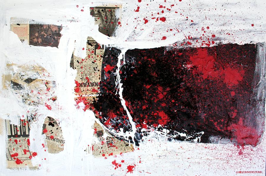 BE PASSIONATE schilderij painting Michel Willemsen