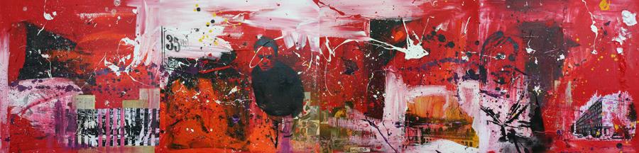 VIERLUIK schilderij painting Michel Willemsen