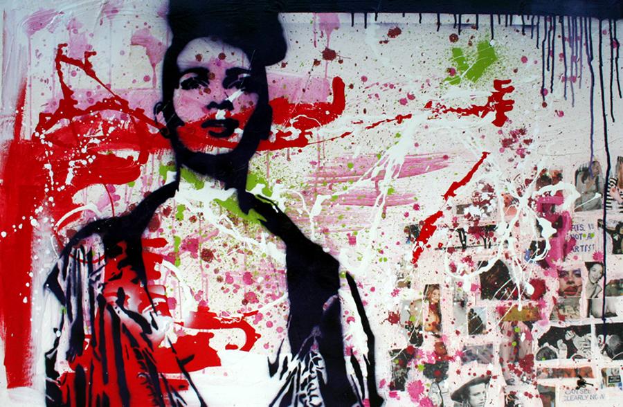 TITLED schilderij painting Michel Willemsen